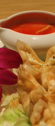 Baked Crab Rangoon, I've done fried ones but not baked....definitely will have to try !