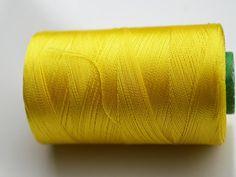 Yellow Silk Thread SpoolArt Silk by CraftyJaipur on Etsy
