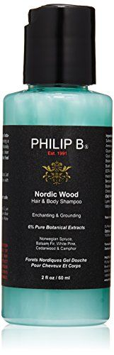 PHILIP B Nordic Wood Hair and Body Shampoo 2 fl oz ** Click image to review more details.Note:It is affiliate link to Amazon.