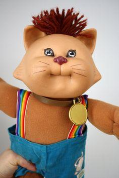 80s Cabbage Patch Kid Koosa Cat Doll 1983