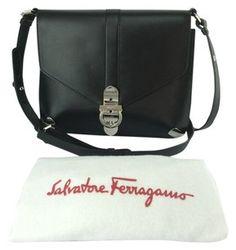 Salvatore Ferragamo Addison Flap Shoulder Bag