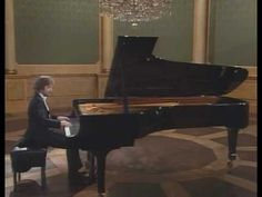 Zimerman plays Schubert Impromptu Op. 90 No. 3.  This was the next piece on my list before I dropped piano in college. :(