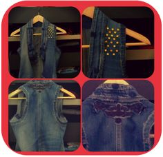 Style Boulevard: DIY: turn old jeans into vest