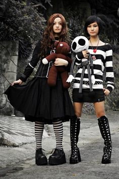 I absolutely love Harajuku fashion. These outfits are on the little bit of the more calm side of Harajuku fashion, but I still love these outfits.