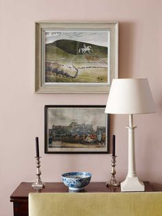 What's not manly about Pink? The Old Parsonage - Ben Pentreath Ltd
