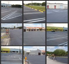 """Team CSG completed Sealcoat and Line Striping at Fruitland Park Plaza. Your parking lot is the """"Welcome Mat"""" to your property. It provides both image and functionality to your business or institution. Your parking lot represents capital investment that must be maintained. Sealcoating helps protect asphalt from the harmful effects of the weather as well as petroleum-based products like gasoline and oil, while proper line striping directs traffic safely and efficiently. A good quality…"""