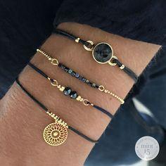 * Swarovski Navy Blue: € * Little Cubes – Colorful Blue: € * Dragonfly Bracelet – Sparkly Blue: € * Boho Ornament – Navy Blue: € Total: € = € Stackable Bracelets, Cute Bracelets, Jewelry Bracelets, Silver Bracelets, Cute Jewelry, Beaded Jewelry, Handmade Jewelry, Handmade Bracelets, Diy Schmuck