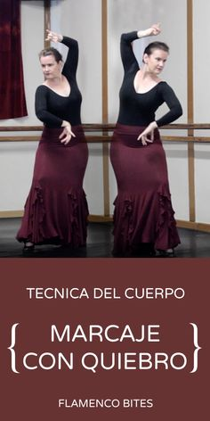 The 5th part of our look at how the quiebro posture is used in flamenco dance. This lesson includes a tutorial for a new marcaje using the quiebro technique.