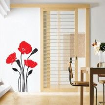 Tulips Wall Stickers are the new way to decorate your home. Wall art graphics are self adhesive, removable wall decals. With these ultra thin matt decals you can easily transform the look of your space in minutes. Removable Wall Decals, Your Space, Wall Stickers, Decorating Your Home, Tulips, Poppy, Curtains, Living Room, Home Decor
