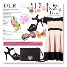 """""""DLR -Luxury Boutique"""" by tanja133 ❤ liked on Polyvore featuring H&M, Boohoo, Yves Saint Laurent and Jimmy Choo"""