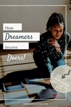 Let's get out of overwhelm and start doing. It's totally possible to break that beautiful and scary dream into small and doable steps. That's how you'll make it happen, and it'll be easier than you think. Promise. I'll guide you every step of the way.