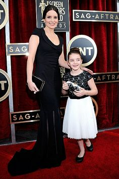 Tina Fey SAG Awards Red Carpet 2014 from instylemag.com.au