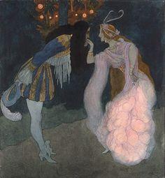 Fairy Tale illustration by Artus Scheiner