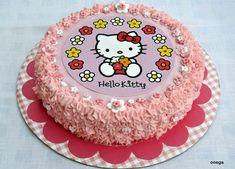 Tarta de cumpleaños Hello Kitty
