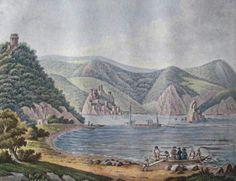 Голубац - гравирa у боји из 1821. године. Golubac, Serbia Serbian, Paintings, Country, Art, Dune, Art Background, Paint, Rural Area, Painting Art