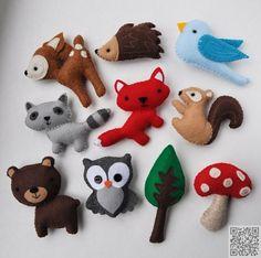 2. #Little Friends - 38 #Super Cute Felt Animals You Can Make ... #Animal