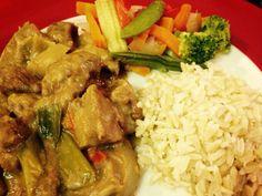 Chinese satay beef food - crock pot in 2019 Healthy Crockpot Recipes, Slow Cooker Recipes, Beef Recipes, Chicken Recipes, Cooking Recipes, Slow Cooking, Smoker Recipes, Crockpot Meals, Healthy Food