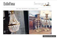 Inspiración deco del día.  #vintage #decoración #lámparas