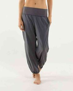 "Want them! ""Om pants"" from lululemon"