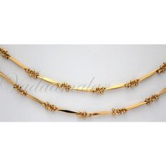 Paayal Kolusu Anklets 2 nos Micro Gold plated Leg Ornament Indian anklet Jewelery