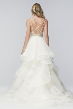 Wtoo Brides Kennedy Gown Style 16005 | Watters.com