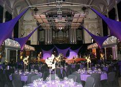 purple lycra event sails