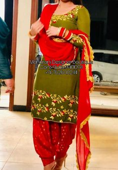 Shop salwar suits online for ladies from BIBA, W & more. Explore a range of anarkali, punjabi suits for party or for work. Bridal Suits Punjabi, Designer Punjabi Suits Patiala, Bridal Anarkali Suits, Punjabi Suits Designer Boutique, Patiala Suit Designs, Boutique Suits, Indian Designer Suits, Salwar Designs, Indian Suits Punjabi