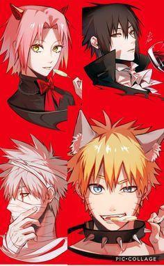 Team 7 Halloween Costumes  Naruto, Sakura, Sasuke, Kakashi ❤️❤️❤️