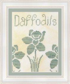 Daffodils Cross Stitch Pattern #017