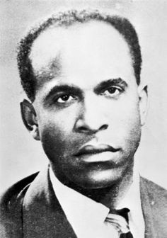 "Frantz Fanon is a Martinique-born French psychiatrist, philosopher, revolutionary and writer whose work is influential in the fields of post-colonial studies, critical theory and Marxism. ""Imperialism leaves behind germs of rot which we must clinically detect and remove from our land but from our minds as well."""