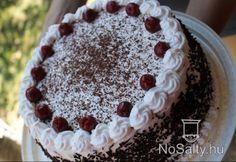 Glutén- és tejmentes feketeerdő torta Gluten Free Sweets, Tapas, Paleo, Desserts, Food, Tailgate Desserts, Deserts, Essen, Beach Wrap
