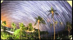 In Their Light: Star Trails from Five Continents. Timelapse Movies taken in Hawaii, Maine, Iceland, Ecuador, New Zealand, Massachusetts, California, Stromboli (Italy) and Ghana
