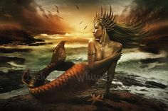 The-Last-Mermaid by EnchantedWhispersArt on DeviantArt