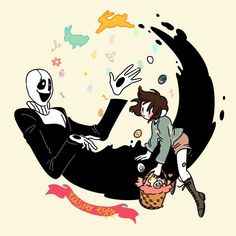 Void games with Frisk and Gaster! Undertale Gaster, Undertale Memes, Undertale Fanart, Frisk, V Games, Video Games, Rpg Horror Games, Underswap, Human Soul