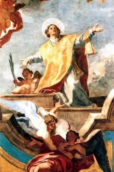 January 14th Saint Felix of Nola.  Elder son of Hermias, a Syrian soldier who had retired to Nola, Italy. After his father's death, Felix sold off most of his property and possessions, gave the proceeds to the poor, and pursued a clerical vocation. Ordained by, and worked with Saint Maximus of Nola.  When Maximus fled to the mountains to escape the persecution of Decius, Felix was arrested and beaten for his faith instead. Legend says he was freed by an angel so he could help his sick…