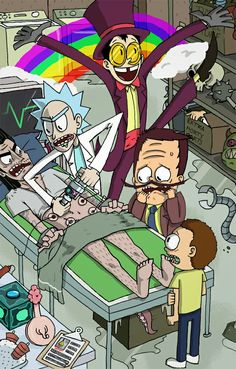 Rick and morty super jail