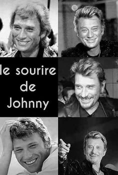 Le sourire de Johnny