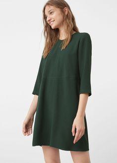 Vestido fluído (verde): MANGO (29,99€)