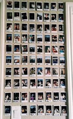 89 elegant dorm room decorating ideas - Top Of The World Decoration Bedroom, Cute Room Decor, Picture Room Decor, Wall Decor, My New Room, My Room, Polaroid Wall, Polaroids, Instax Wall
