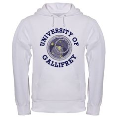 University of Gallifrey. Another college sweatshirt I want to add to my collection.