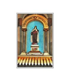 Religious Art Card Altar Card New Orleans by twistedpixelstudio, $5.00