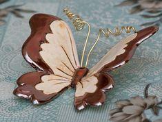 Pottery Animals, Ceramic Animals, Clay Art Projects, Ceramics Projects, Clay Flowers, Ceramic Flowers, Ceramic Clay, Ceramic Painting, Clay Christmas Decorations