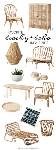 Favorite Beachy + Boho Ikea Finds In scouting for the BHG makeover I., Favorite Beachy + Boho Ikea Finds In scouting for the BHG makeover I hit Ikea. They have a ton of new items, especially with a beachy-boho. Boho Room, Boho Living Room, Living Room Decor, Dining Room, Living Spaces, Modern Farmhouse, City Farmhouse, Farmhouse Decor, Boho Dekor