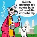 Government Isn't Working Today