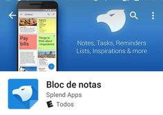 Una increíble app, con muchas. Opciones para tomar notas, grabar. Etc