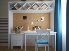 Corkboard Desk