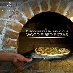 The heat of our authentic wood-fired oven is matched only by our passion for great Mediterranean cuisine!