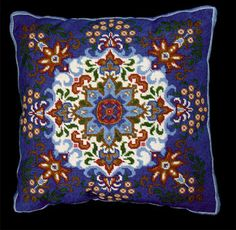 Blue Kaleidoscope - Needlepoint Kit