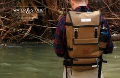 Water & Stone | Fly Fishing Backpack on Behance