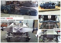 Who wants a lighter car? Tommy Payne did, so he ordered a Mustang body and began building a new one! Looks like Tommy is doing a killer job so far! What color should he paint it? 67 Mustang, Tube Chassis, Transformation Tuesday, Lighter, Race Cars, Eye Candy, Racing, Trucks, Building
